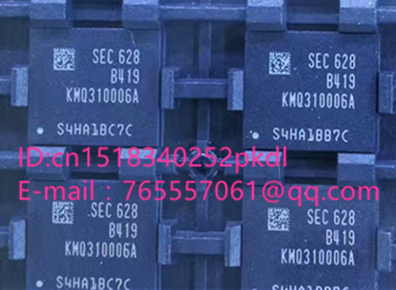 (1PCS) (2PCS) (5PCS) (10PCS)  100% new original  KMQ310006A-B419  BGA   Memory chip   KMQ310006A B419 1pcs 2pcs 5pcs 10pcs 100% new original kmr310001m b611 bga memory chip