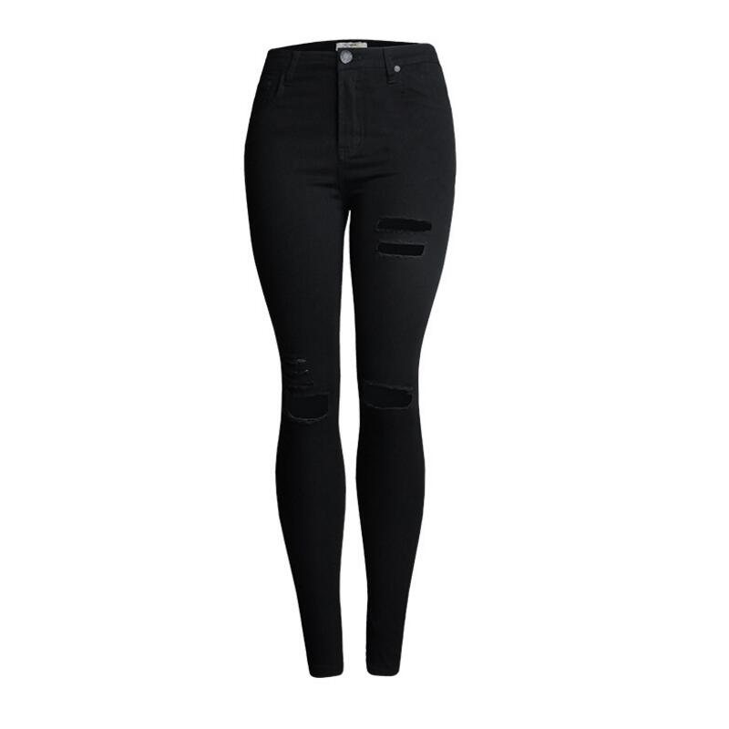 Popular Ripped Jean Capris-Buy Cheap Ripped Jean Capris lots from ...