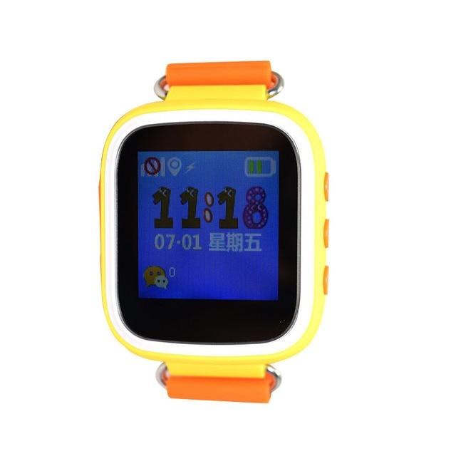 2017 Детей Smart watch 1.44 дюймов Anti-Потерянный Пульт Дистанционного Монитор Smartwatch С SOS LBS базовая станция Rrack дети подарок