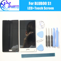 BLUBOO S1 LCD Display Touch Screen 100 Original LCD Digitizer Glass Panel Replacement For BLUBOO S1