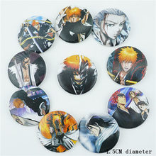 10 Stks/set Japan Anime Bleach Kurosaki Ichigo Pins Badges Broche Borst Ornament Van De Kleding Accessoies Collectie Cosplay Nieuwe(China)