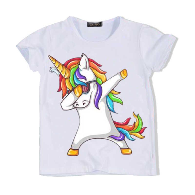 f730e612 ... 2018 cartoon animals, funny boy T-shirt, children's clothing, cat /  zebra ...