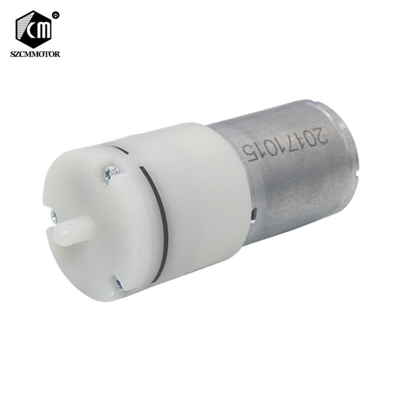 6V мотор микро вакуумный насос воздушный насос DC маленький мини 370 мотор микро воздушный насос кислородный насос аквариум сделай сам