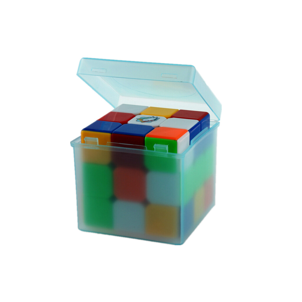 1pcs New Arrival Plastic Saving Box Outer Packing For 3x3x3 Magic Cube Color Randomly