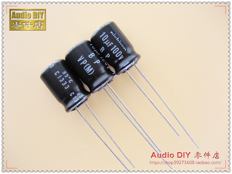 2018 Hot Sale 30PCS/50PCS Nichicon VP-BP Series 10uF/100V Non-polar Electrolytic Capacitor (origl Bag) Free Shipping
