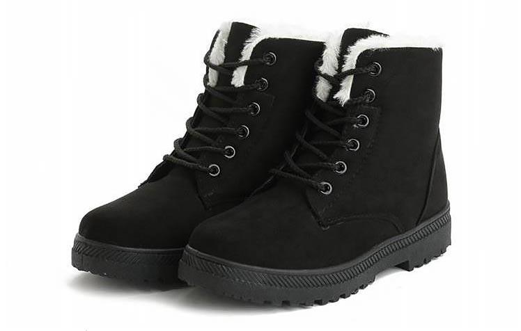 Women Shoes lace-up Winter Shoes 39