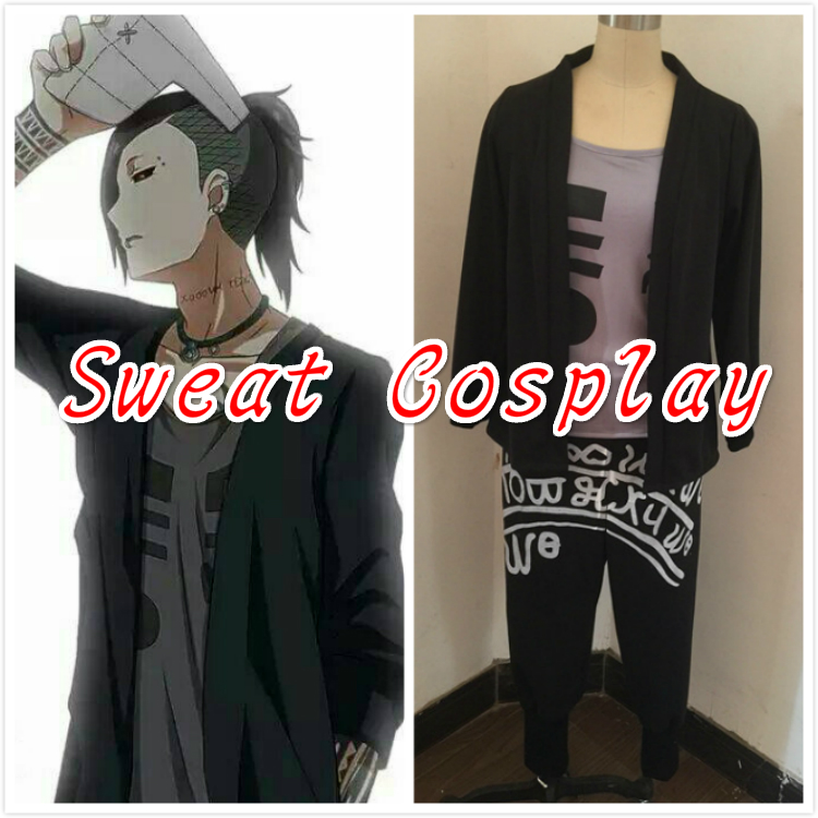 Hot Anime Tokyo Ghoul 2 Uta Uniform Suit Hallowmas Cosplay Costume Custom-made Any Size