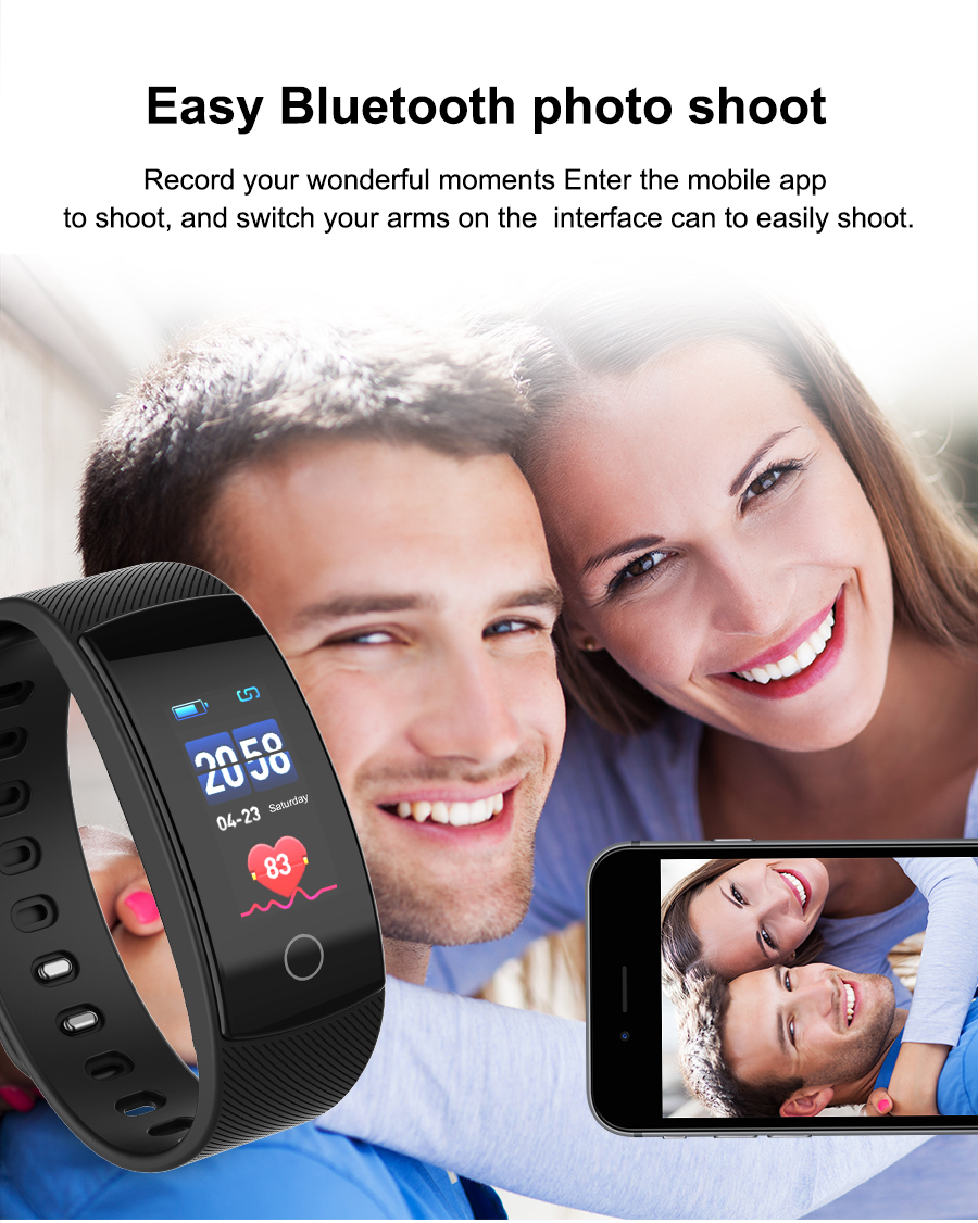 Smart Watches Bluetooth Smartwatch for Android iOS Phone Bracelet Outdoor Sport Pedometer Calories Smartband IP67 Wristwatch