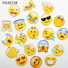 1 Piece Cute Emoji Pattern Cartoon Expression Kids Education Fridge Magnets Souvenir Blackboard Magnetic Stickers