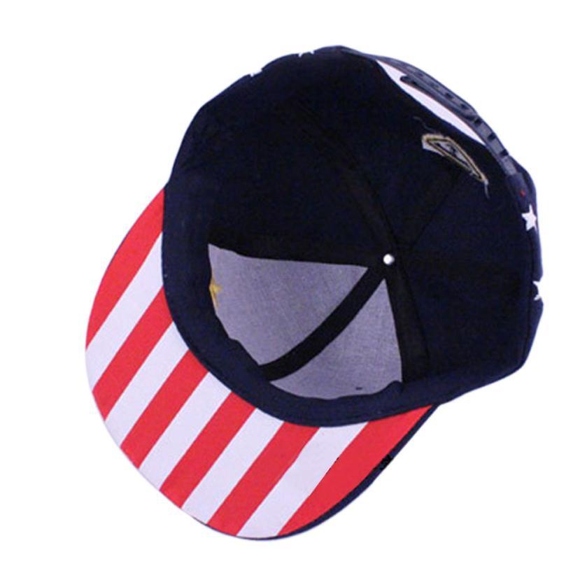 Mode Druck Sterne Gestreiften Sonne Lkw Hut Einstellbare Hysterese Neue Kinder Baby Kinder Muster Hip Hop Baseball-Cap Schirmmütze