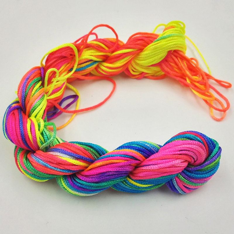 Portable Audio & Video 1mm*23m Nylon Cord Thread Braid String Thread String Macrame Wire Diamter Knit Diy For Chinese Knot Bracelet