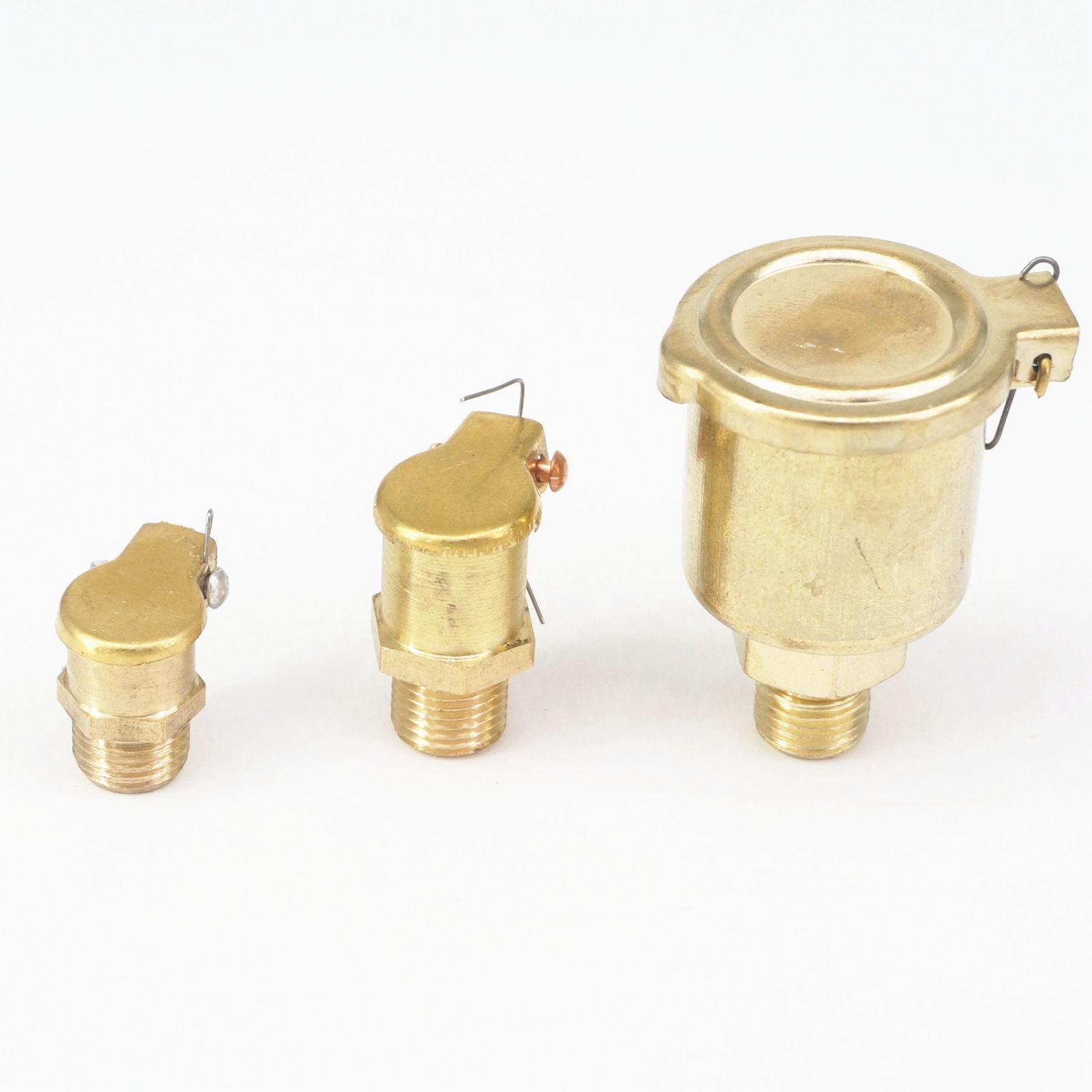 Brass Grease Oil Cup Oiler Spring Flip Cap for Hit Miss Engine M6 M8 M10 M14