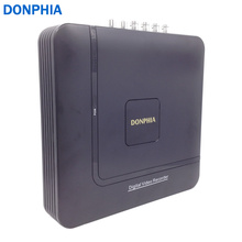 Donphia видеонаблюдения dvr 4ch onvif p2p 3 в 1 hybrid ahd ahd/аналоговый/ip камеры h.264 motion detection