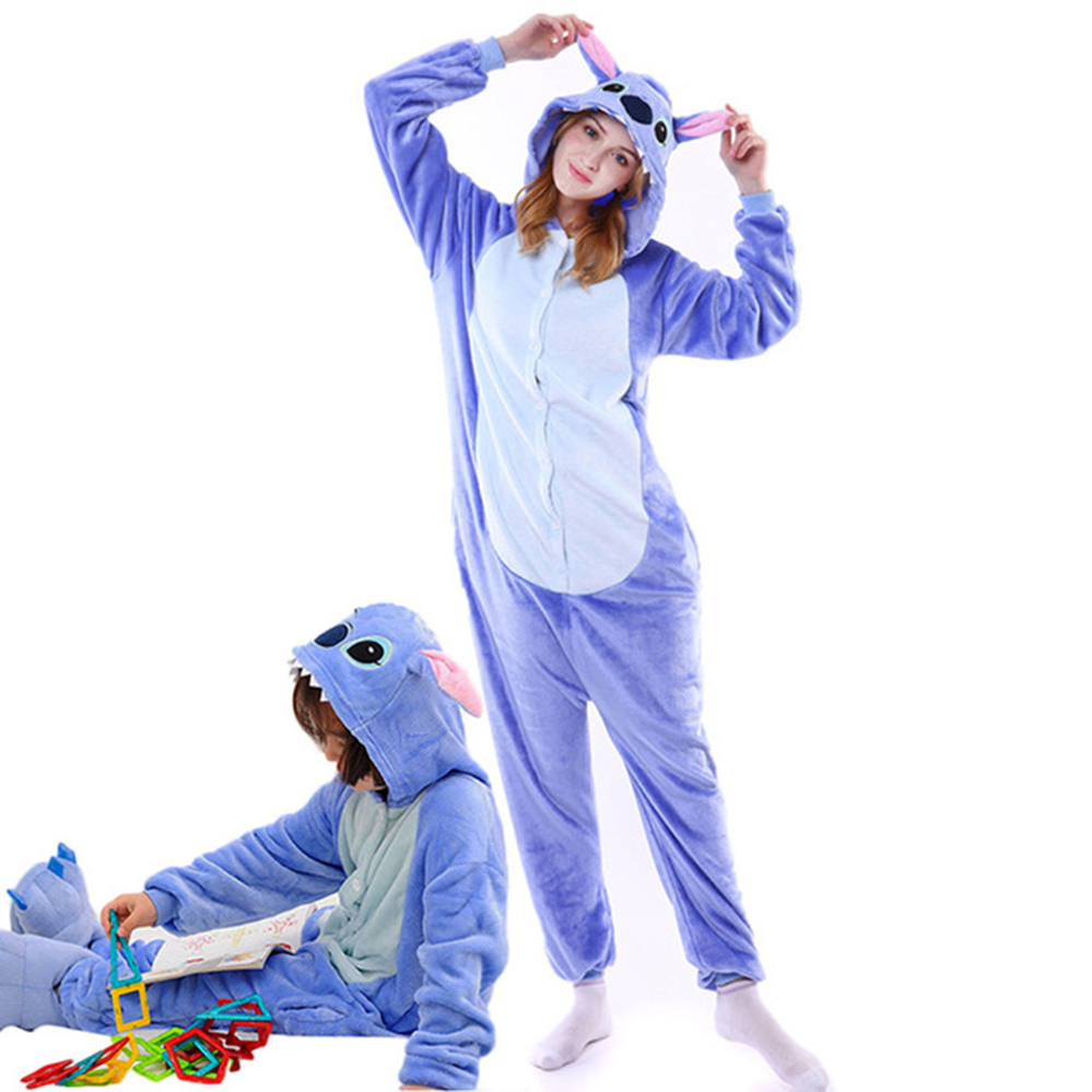 christmas unicorn pajamas stitch cartoon pajamas onesie kids animal boys girls adults pajama winter family matching outfits