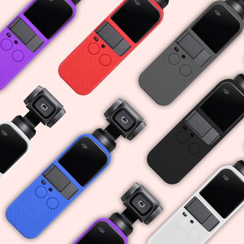 DJI OSMO Tasca In Silicone Protettiva Della Copertura con la Cinghia Multi-Protezione del colore Custodie per DJI OSMO Tasca Handheld Gimbal Accessorie