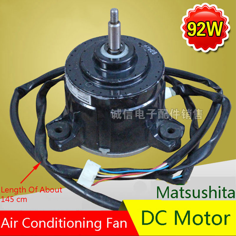 Original For Matsushita 92W Air Conditioning Fan DC Motor Air Conditioning Parts 95% new original for midea air conditioning fan motor ydk36 4c a ydk36 4g 8 4g 8 36w direction of departure