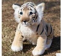 Simulación hight qualit Tigre De Peluche Juguetes Animales Niño Regalo Precioso Peluche Muñeca Almohada Animal Niños Niños Regalo de Cumpleaños