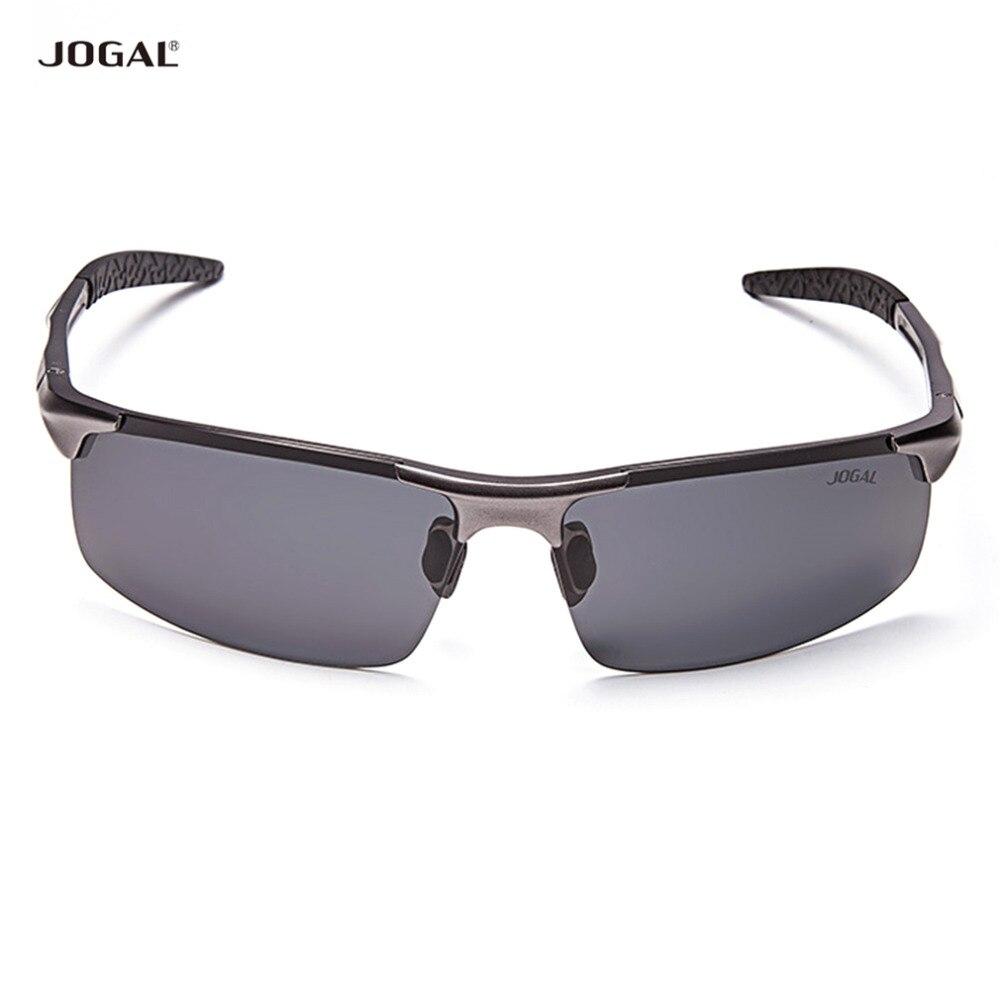 Prix pour Sport JOGAL Style Coloré Films lunettes de Soleil Lunettes Accessoires Conduite Équitation Mâle Lunettes de Soleil Pour Homme JG8177
