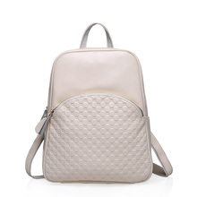 Zency mochila de moda de marcas famosas de cuero real mochila mujer femenina bolsas de piel de vaca mochila de cuero genuino