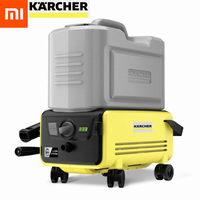 Xiaomi mijia karcher máquina de lavar carro sem fio alta pressão mais limpo 60bar portátil máquina limpeza elétrica 3 m tubo