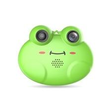 Cute HD 1080P Frog Child Camera Digital Photo Camer