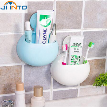 Newest New Toothbrush Holder Bathroom Kitchen Family Toothbrush Suction Cups Hol