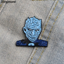 L2309 Game of Thrones The white walkers enamel pin brooches badge Fans collection