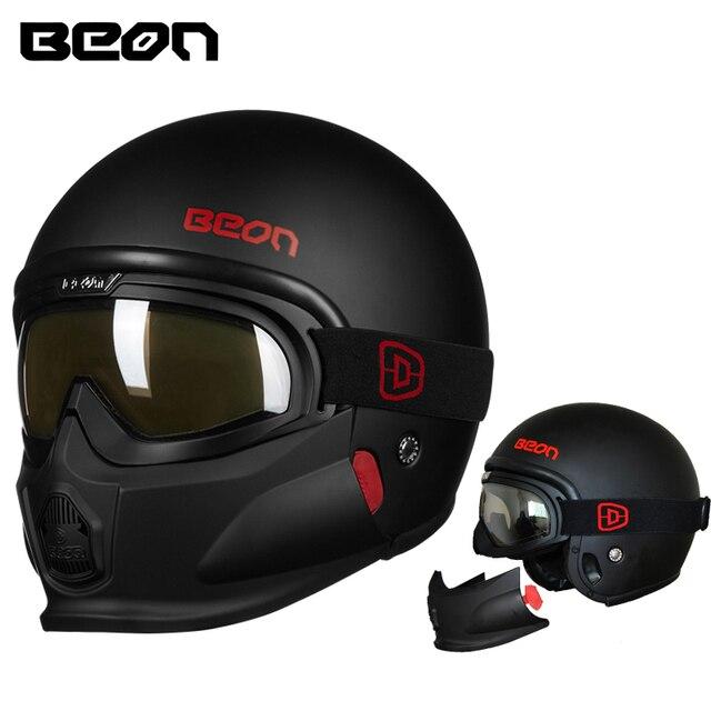 Beon Motorcycle Helmet Retor Jet Moto Racing Helmets Modular Open Face  Helmet Motocross Casque Casco Motocicleta Capacete 7015dd3de6f9