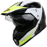 YOHE Motorcycle Helmet Dual Lens Cross Country Helmet Off Road Racing Motocross Helmet With Inner Sun