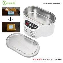 DA 968 limpiador ultrasónico inteligente para limpieza de joyas y gafas, minilimpiador ultrasónico para el baño, placa de circuito, Control inteligente
