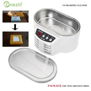 Image 1 - Ultrasonic Cleaner DA 968 New Smart Mini Ultrasonic Cleaner Bath For Cleaning Jewelry Glasses Circuit Board Intelligent Control