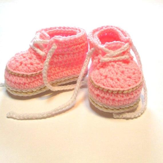 Crochet scarpette da neonato. rosa pattini della neonata in Crochet  scarpette da neonato. rosa pattini della neonatada Primi passi su  AliExpress.com ... cf4dbe9df10
