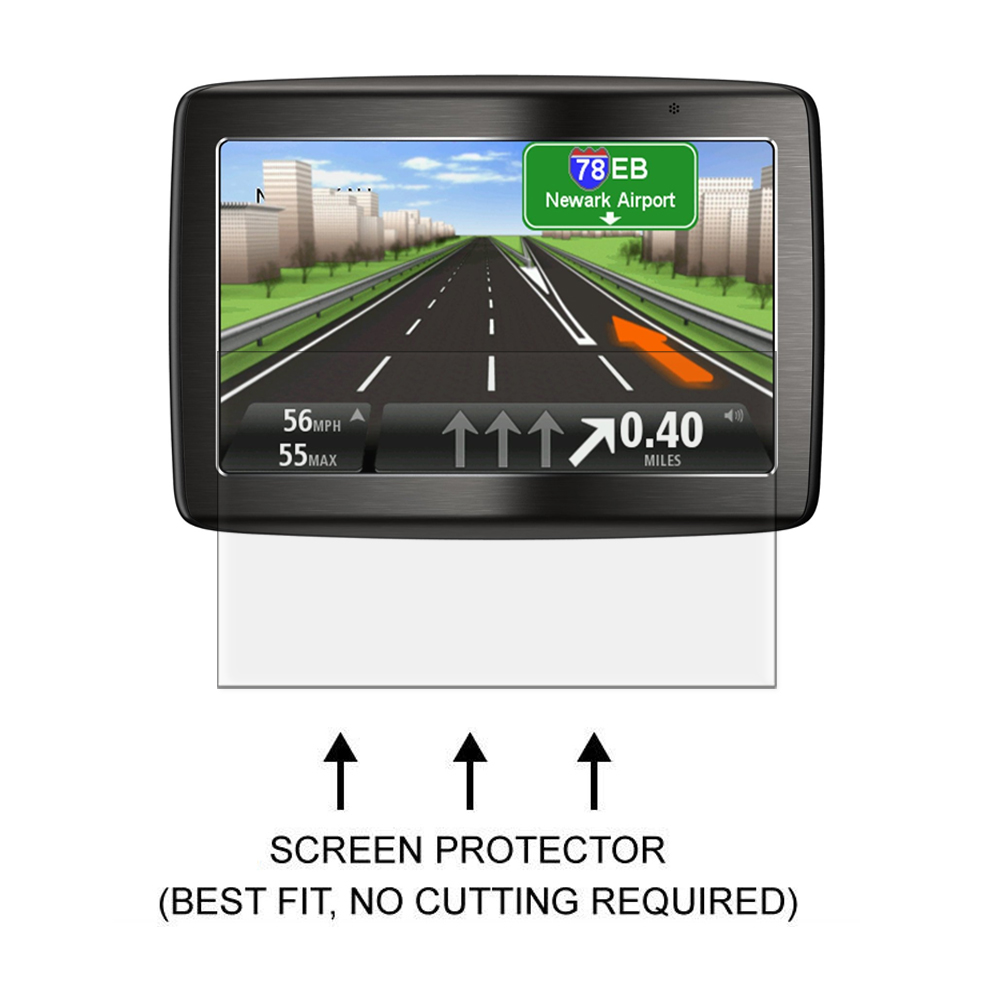 3* Clear LCD PET Film Anti Scratch Screen Protector Cover for TomTom