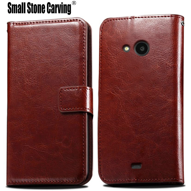 detailed look 43301 bdb54 For Nokia Lumia 535 Case Silicone Shell Leather Phone Cases For Microsoft  Lumia 535 Case Flip Magnet Wallet Lumia 535 Case Cover-in Flip Cases from  ...