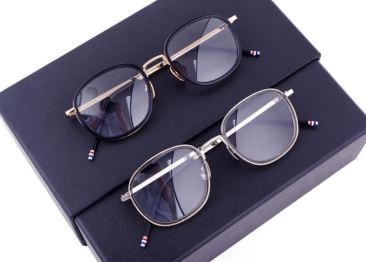 New York Brand Thom Eyeglasses Men And Women TB906 Optical Vintage Spectacle Retro Glasses Frame Reading Eyewear Oculos De Grau