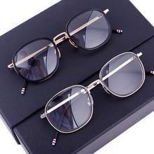 655fc28e8e4 New York Brand Thom Eyeglasses Men And Women TB906 Optical Vintage Spectacle  Retro Glasses Frame Reading