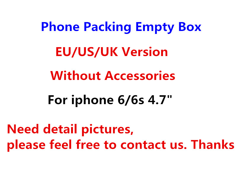 50pcs/ Original Quality US/EU/UK Version Phone Packaging