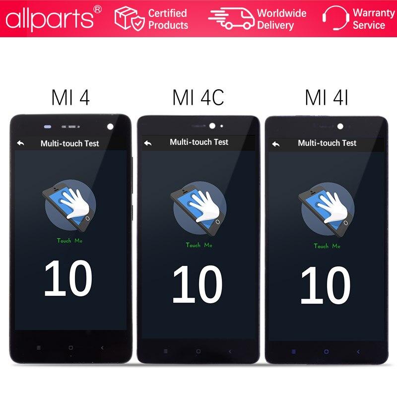 5.0 Affichage D'origine Pour XIAO mi mi 4 LCD écran tactile avec Cadre pour Xiao mi mi 4C écran LCD mi 4 4C 4i mi 4i LCD Remplacement #4