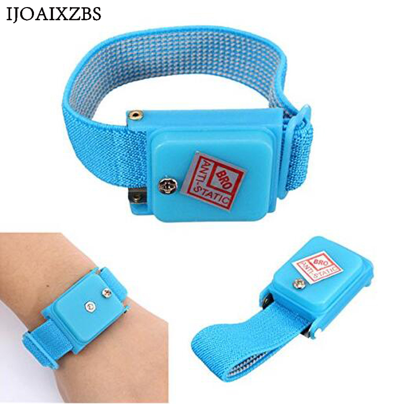 Bracelet Wrist-Band Hand Esd-Discharge-Cable Electrostatic Adjustable Wireless With Strap
