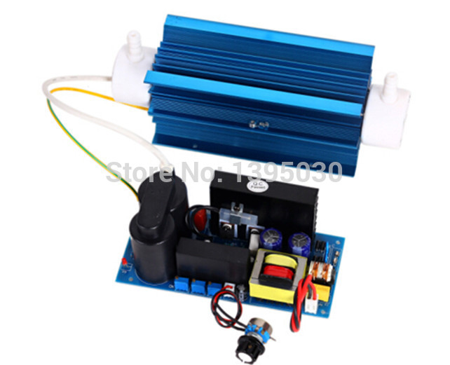 1PC TS-8GCKT Adjustable Quartz Ozone Tube 8g/h Ozone Generator For Air and Water Purifier USG