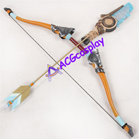 ACGcosplay Legend of Zelda Breath of the Wild Link Bow Arrows and Arrow Holder PVC made