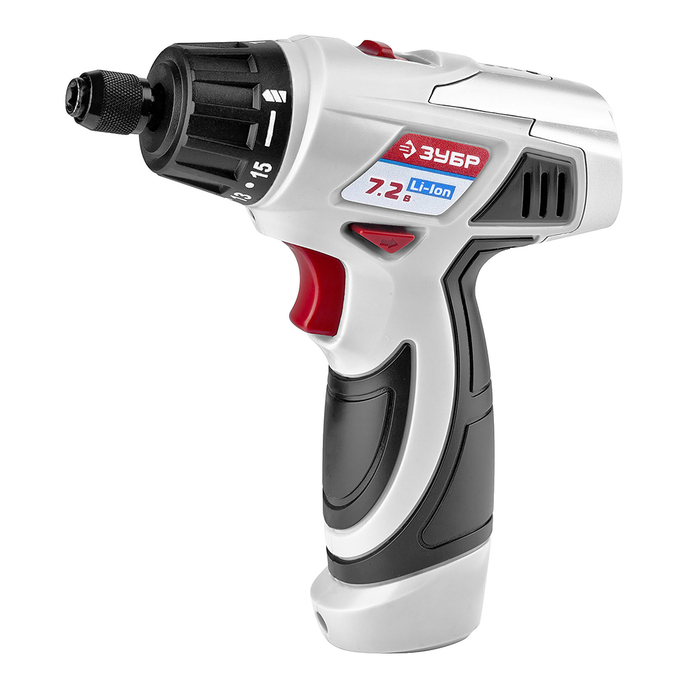Cordless drill screwdriver ZUBR ZDA-7.2-Li-K wosai 20v lithium battery max torque 380n m 4 0ah brushless electric impact wrench diy cordless drill cordless wrench