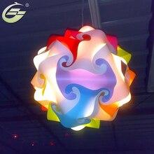 New Modern DIY Pendant Ball novel IQ baby room lamp light pendant lights lamp,size 25cm/30cm/40cm YSLIQR free shipping