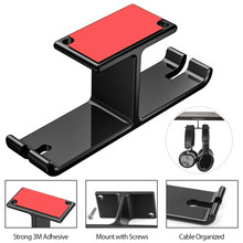 Headphone Holder Head-Mounted Hook Display Shelf Headphone Bracket Hanger Support Bracket Black(China)