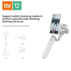 Oryginalny Xiaomi Mijia SJYT01FM 3-Axis Handheld stabilizator gimbal w 5000mAh baterii przez aparat działań sportowych i telefon Mix 2 2S 2