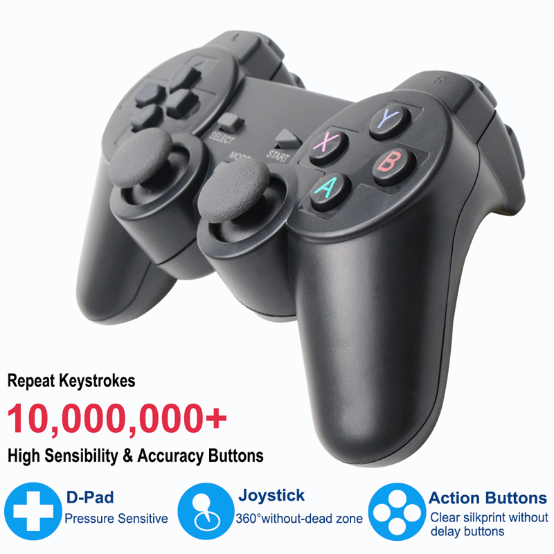 lowest price 2 4G Wireless Gamepad For PS3 Android Phone TV Box PC Joystick For Xiaomi OTG Smart Phones Game Controller Remote Joypad
