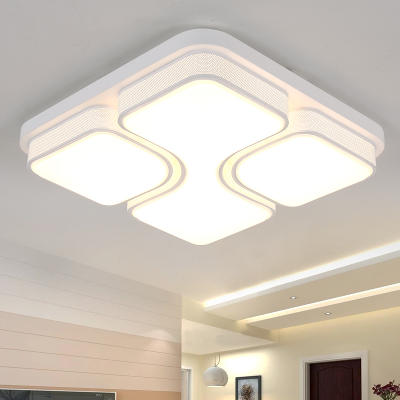 Moderne Plafondlamp Lamparas De Techo Plafoniere Lampara Techo Salon Slaapkamer Licht Voor Thuis LED Plafondlamp Dcor Lantaarn - 3