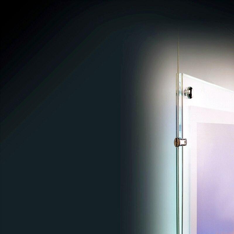 A4 Single Sided Acrylic Frameless Poster Frame Real Estate Agent LED ...