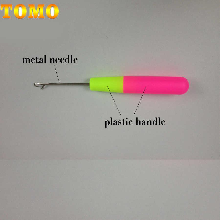 Wolesale Preis 1 Stück 15 Cm Rosa & Zitrone Farbe Kunststoff Stricken Häkeln Haken Nadeln Für Jumbo Flechten Haar Und häkeln Zöpfe