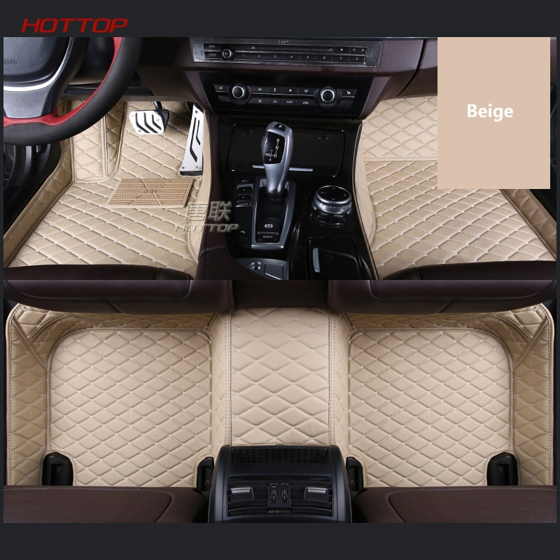 For LHD Toyota Camry 8th XV70 2018 Car Floor Mats Custom Rugs Auto Interior Leather Foot Mat Pads Black Accessories Car styling